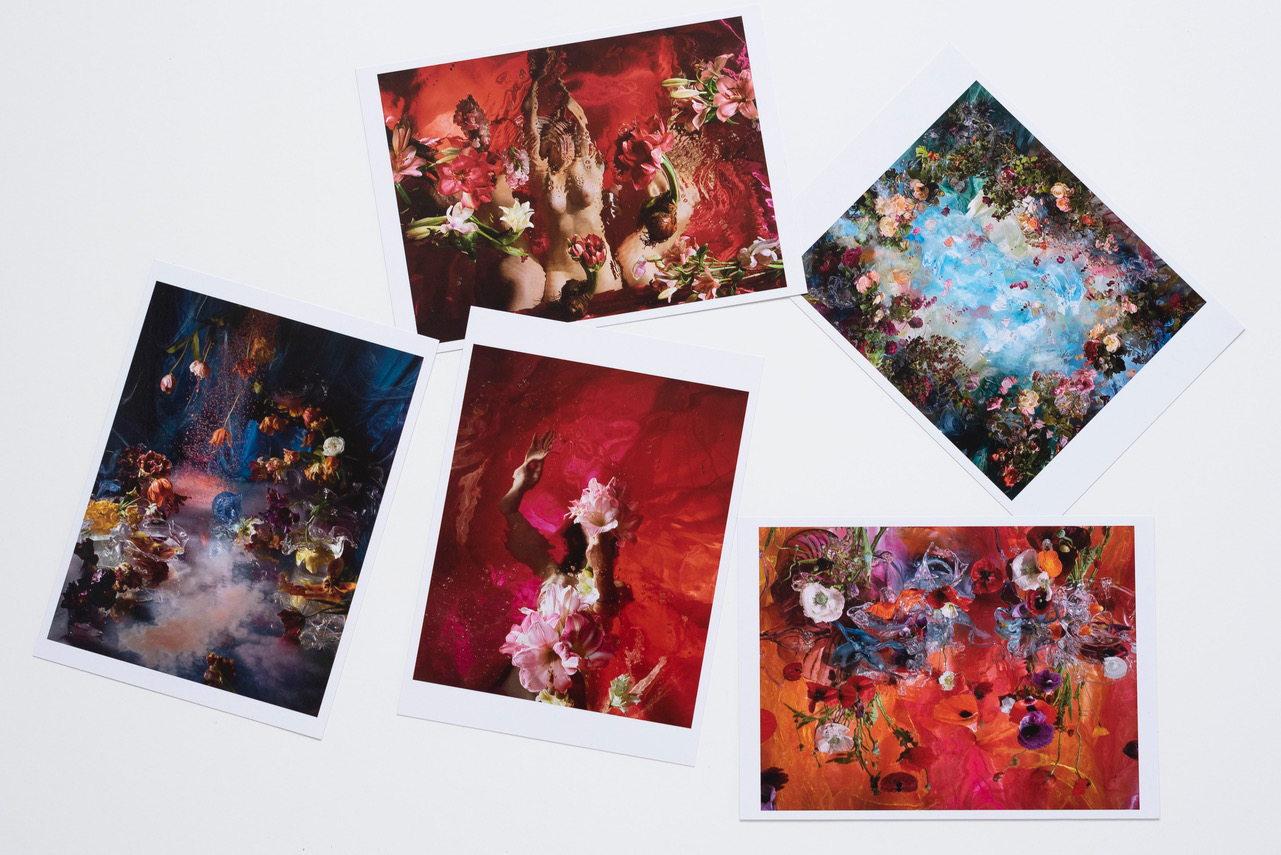 5 postcards 13 x 18 cm  € 9,40 This set-price includes shipping within the Netherlands.  Outside NL:  € 9,91